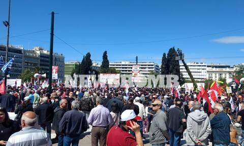 Πρωτομαγιά 2019: Σε εξέλιξη οι συγκεντρώσεις στο κέντρο της Αθήνας (pics)
