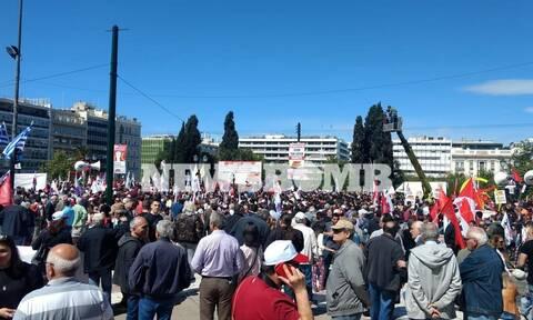 Πρωτομαγιά 2019: Ολοκληρώθηκαν οι συγκεντρώσεις στο κέντρο της Αθήνας (pics)