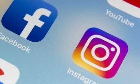«Έπεσε» πάλι το Facebook - Προβλήματα και σε Instagram και WhatsApp