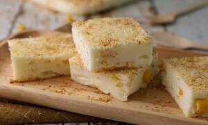 Η συνταγή της ημέρας: Βραζιλιάνικο γλυκό (Maja blanca)