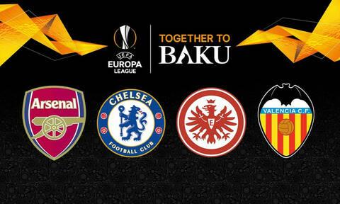 Εuropa League LIVE: Οι «μάχες» σε Φρανκφούρτη και Λονδίνο