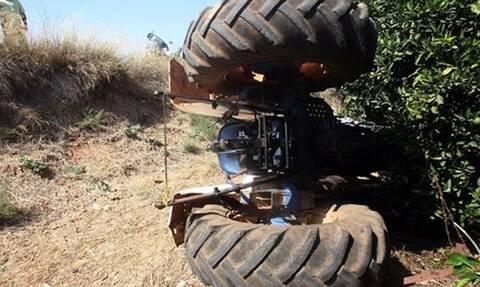 Τραγωδία στο Αίγιο: Νεκρός αγρότης που καταπλακώθηκε από τρακτέρ