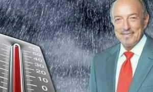 Καιρός: Σε τι επίπεδα θα πέσει η θερμοκρασία από Δευτέρα; Η προειδοποίηση του Τάσου Αρνιακού (video)