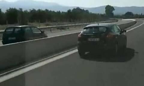Σοκ- Γυναίκα οδηγεί στο αντίθετο ρεύμα της Εθνικής Οδού Κορίνθου - Τρίπολης