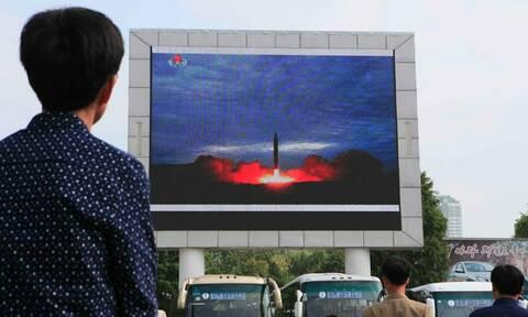 Η Βόρεια Κορέα εκτόξευσε πύραυλο μικρού βεληνεκούς