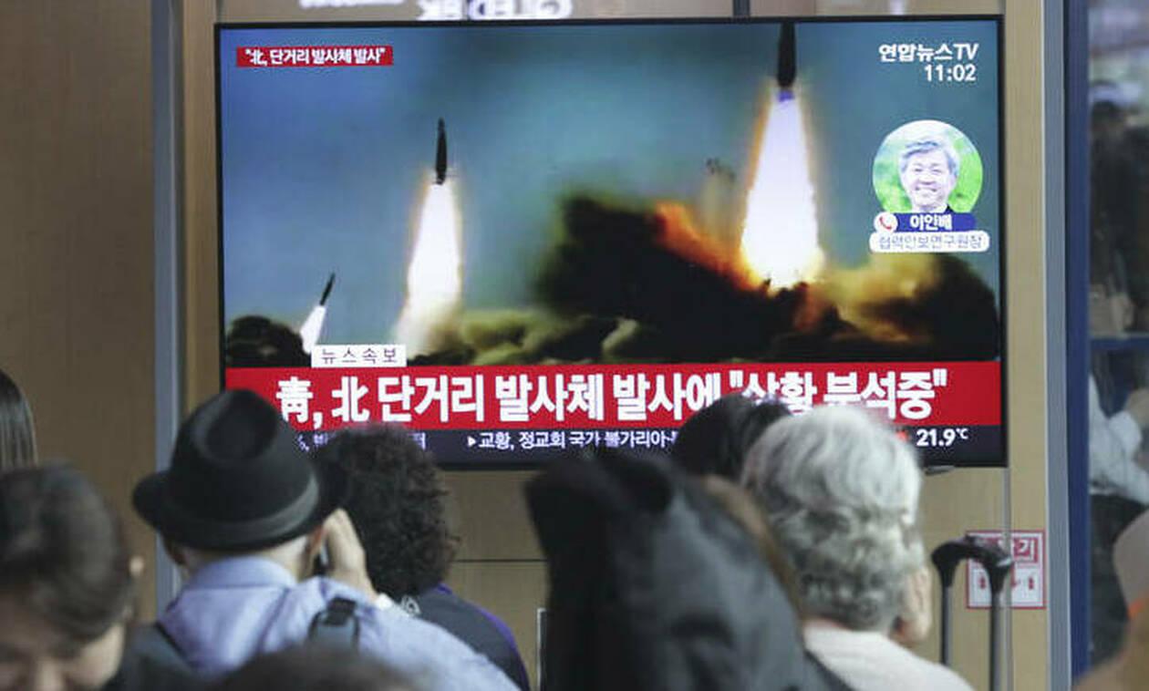 Πάτησε το κουμπί ο Κιμ: Η Βόρεια Κορέα εκτόξευσε πολλούς πυραύλους μικρού βεληνεκούς