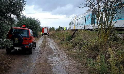 Τραγωδία στη Βέροια: Τρένο παρέσυρε αυτοκίνητο - Δύο νεκροί