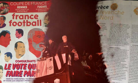 France Football: «ΠΑΟΚ, η εκδίκηση του Βορρά»