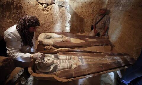 Σπουδαία ανακάλυψη αρχαίας νεκρόπολης του Παλαιού Βασιλείου στην Αίγυπτο (pics)