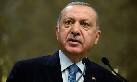 Ερντογάν: Το Anadolu θα συνεχίσει να ενημερώνει για τον δίκαιο αγώνα των Παλαιστινίων