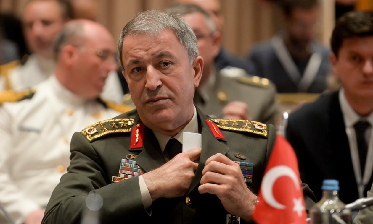 Πολεμικές ιαχές από Ακάρ: «Θα υπερασπιστούμε τα δικαιώματά μας σε Αιγαίο και Κύπρο»
