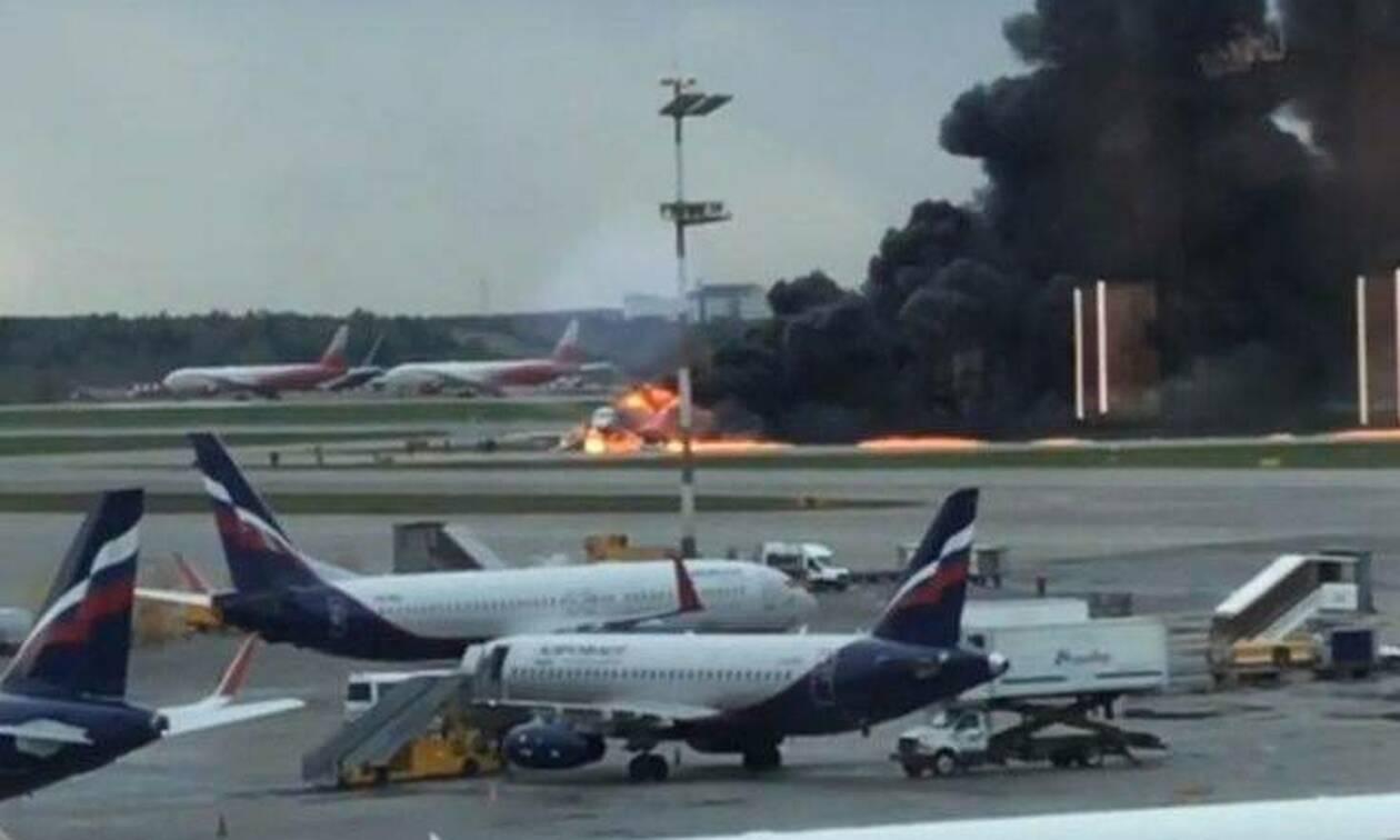 Τραγωδία στη Μόσχα: Τουλάχιστον 13 νεκροί σε αεροσκάφος που τυλίχθηκε στις φλόγες (vids)