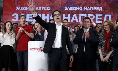 Σκόπια - Προεδρικές εκλογές: Ο Στέβο Πεντάροφσκι είναι ο νέος πρόεδρος των Σκοπίων