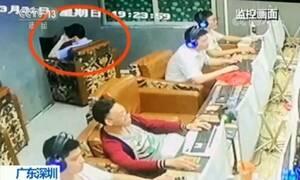 Καθόταν σε internet καφέ για δύο ημέρες και μετά κατάλαβαν τι έχει συμβεί