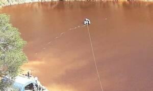 Κύπρος - Serial Killer: Δεν βρέθηκε η τρίτη βαλίτσα στην «Κόκκινη» Λίμνη