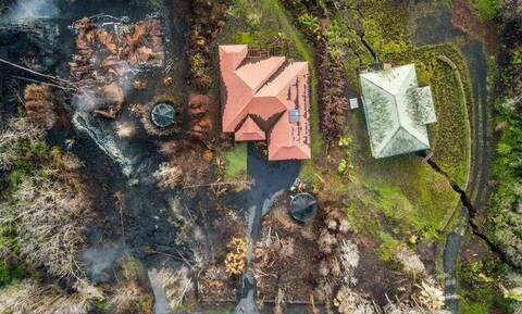 Σήκωσε Drone πάνω από το ηφαίστειο Κιλαουέα. Οι εικόνες που κατέγραψε είναι... σοκαριστικές (vid)