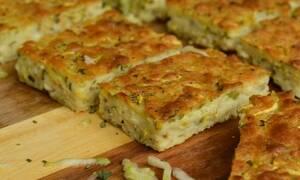 Η συνταγή της ημέρας: Ζυμαρόπιτα ή Μπατζίνα