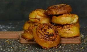 Η συνταγή της ημέρας: Cheddar rolls