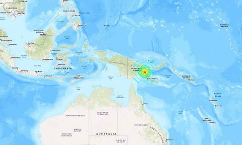 Μεγάλος σεισμός 7,2 Ρίχτερ στην Παπούα - Νέα Γουινέα
