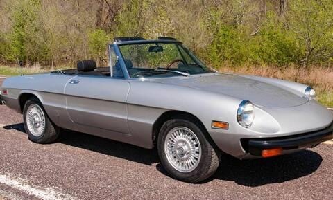 Πουλήθηκε η Alfa Romeo Spider του Μοχάμεντ Άλι