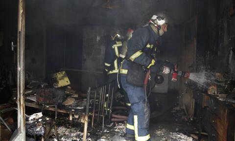Φρίκη στην Αιτωλοακαρνανία: Γυναίκα κάηκε μέσα στο ίδιο της το σπίτι