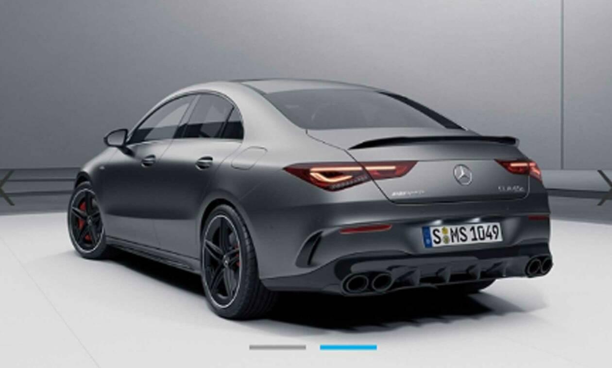 Αυτή είναι η Mercedes-AMG CLA 45 4MATIC των 2.000 κ.εκ. - Θα φτάνει τους 422 ίππους