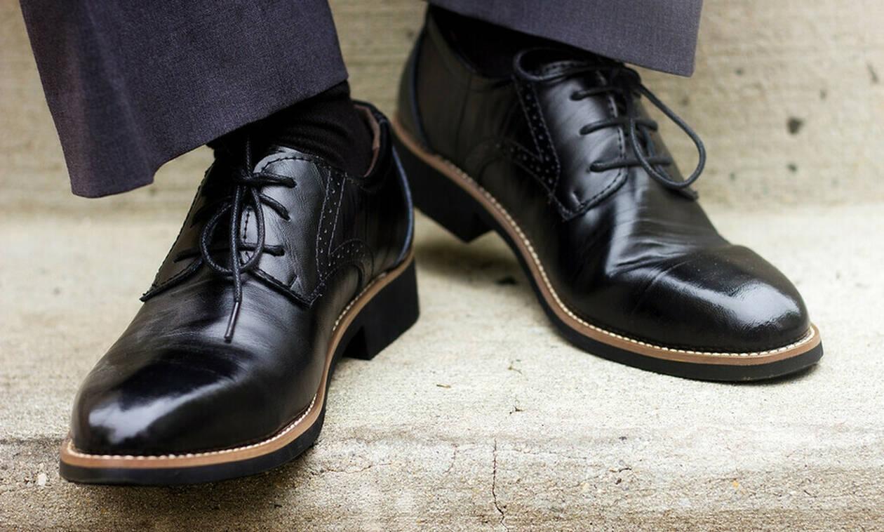 Άνδρες Προσοχή! Τι σημαίνει το νούμερο του παπουτσιού σας για το μέγεθος!