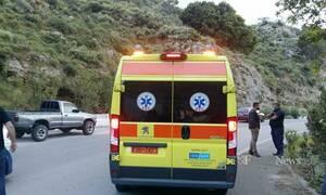 Νέο σοβαρό τροχαίο στην Κρήτη: Σώθηκαν από θαύμα! Αυτοκίνητο «βούτηξε» σε γκρεμό 7 μέτρων (pics)