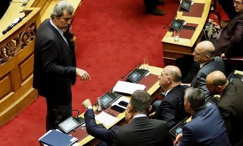 Βουλή: Άγριο επεισόδιο Πολάκη - Μητσοτάκη - Δείτε τις φωτογραφίες