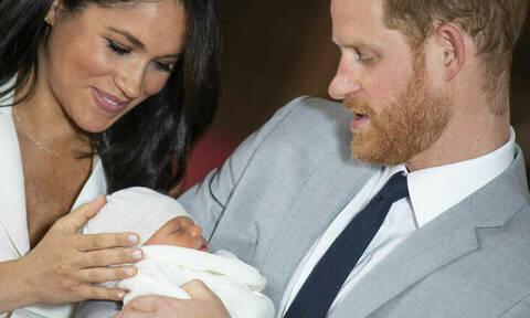 Δεν ήταν τυχαία! Τι σημαίνουν τα ονόματα που δόθηκαν στο μωρό του Χάρι και της Μέγκαν