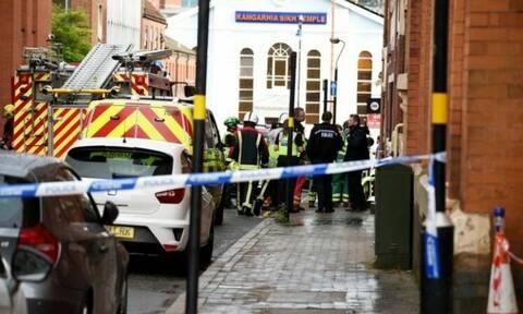 Βρετανία: Κατέρρευσε κτήριο στο Μπέρμιγχαμ - Τρεις τραυματίες (pics)