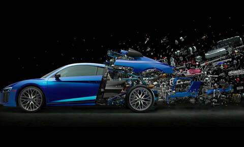 Δείτε στο βίντεο πως δημιουργήθηκε αυτή η εντυπωσιακή φωτογραφία του Audi R8