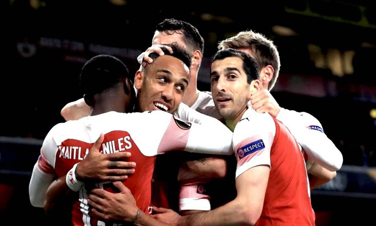 Europa League: Με φόρα στον τελικό η Άρσεναλ