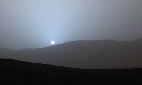 Αυτό είναι το χρώμα του ηλιοβασιλέματος στον Άρη (pics+vid)