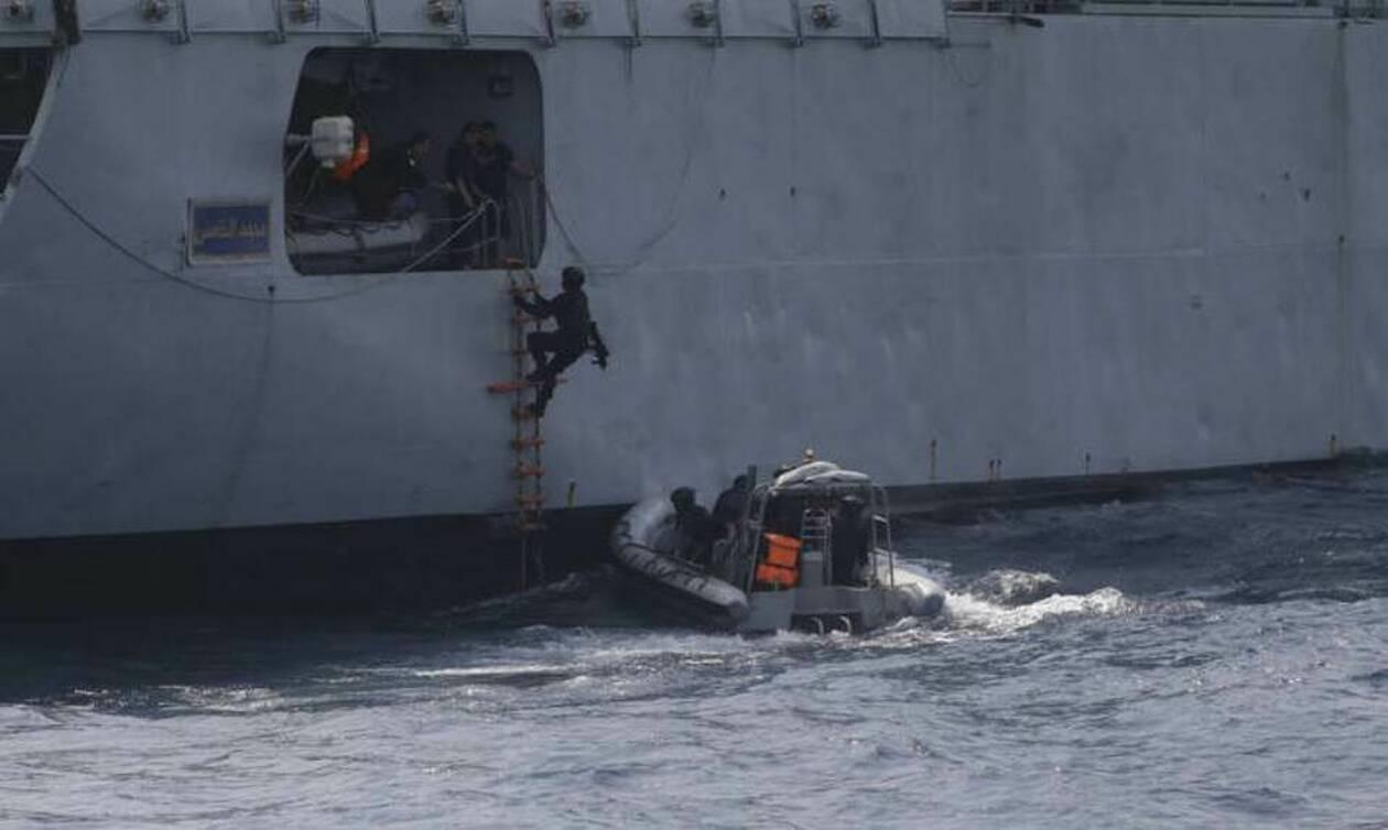 Κατάληψη πλοίου της Βόρειας Κορέας από το πολεμικό ναυτικό των ΗΠΑ