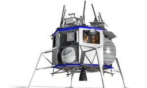 O Τζεφ Μπέζος θα στείλει ανθρώπους στη Σελήνη έως το 2024 (vid)
