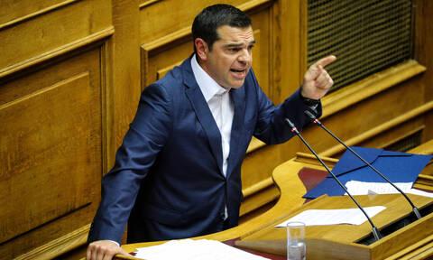 Ψήφος εμπιστοσύνης - Τσίπρας: Ο Μητσοτάκης πήγε για μαλλί και βγήκε κουρεμένος