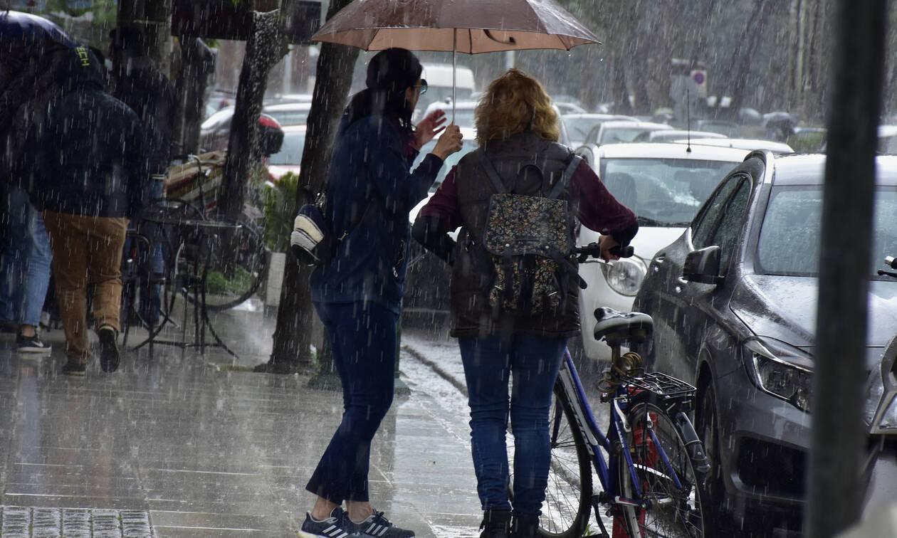 Καιρός: Έρχεται ραγδαία επιδείνωση με καταιγίδες, χαλάζι και κρύο