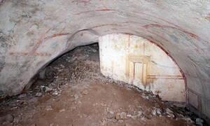 Δέος! Ανακαλύφθηκε «κρυφή» αίθουσα στο Χρυσό Παλάτι του Νέρωνα (pics)