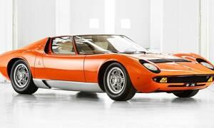 Aυτή είναι η Lamborghini Miura P400 που είχε εμφανιστεί στην ταινία «The Italian Job»