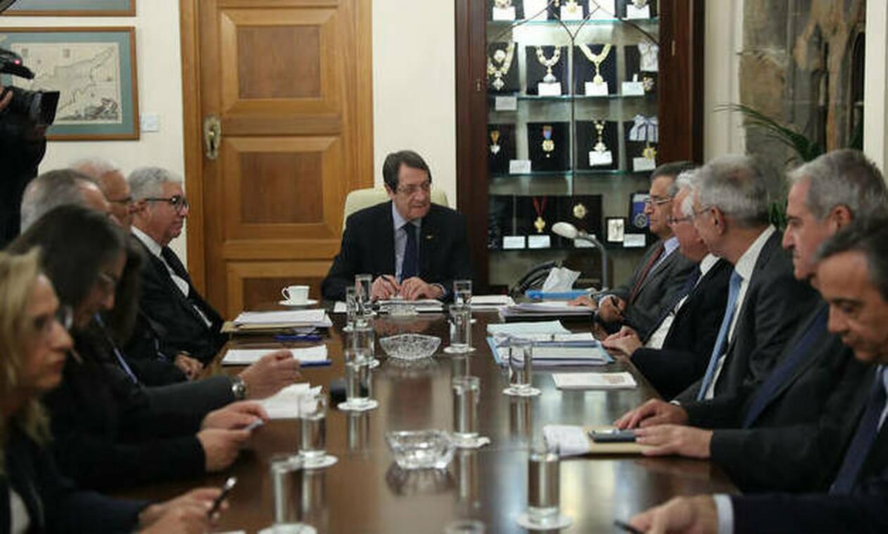 Κύπρος: Έκτακτη συνεδρίαση του Εθνικού Συμβουλίου με θέμα τις τουρκικές προκλήσεις