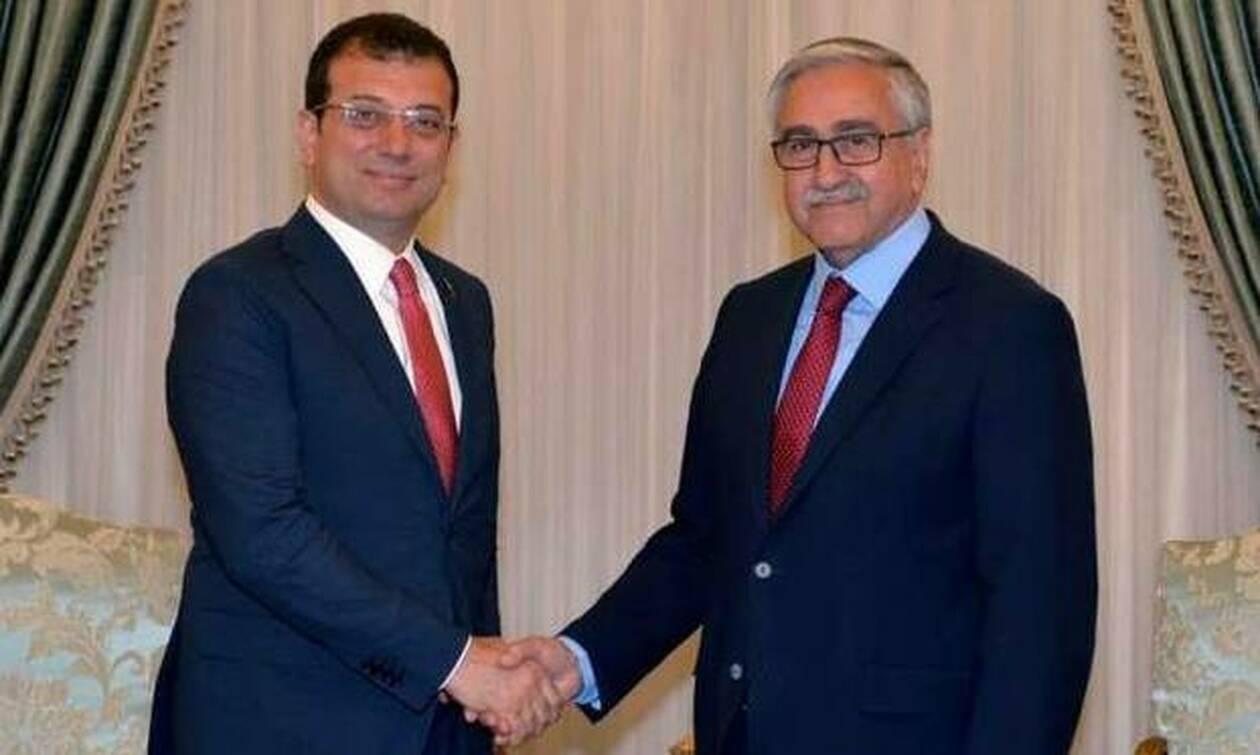 Κύπρος: Συνάντηση Ακιντζί – Ιμάμογλου στα Κατεχόμενα