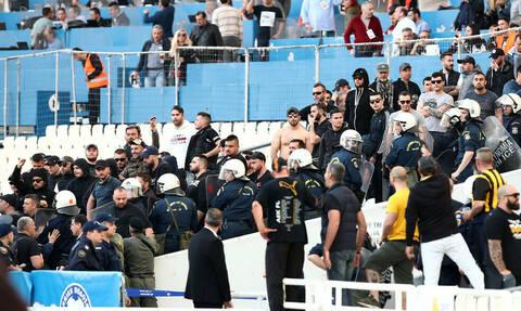 ΠΑΟΚ-ΑΕΚ LIVE: Ένταση στο ΟΑΚΑ πριν τον τελικό - Τι συνέβη στα επίσημα (photos)