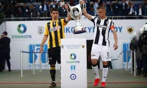 ΠΑΟΚ – ΑΕΚ LIVE: Πέλκας και Μάνταλος έφεραν το Κύπελλο (video+photos)