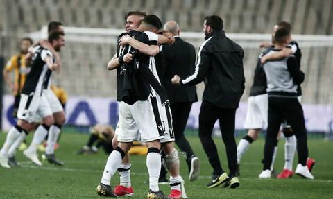 ΠΑΟΚ-ΑΕΚ: «Αυτό είναι σωστό, πρωτάθλημα και Κύπελλο στον Πύργο το Λευκό» (photo)