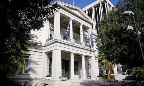 ΥΠΕΞ: Απαράδεκτες και αβάσιμες οι διεκδικήσεις της Άγκυρας - Υπονομεύουν τη σταθερότητα