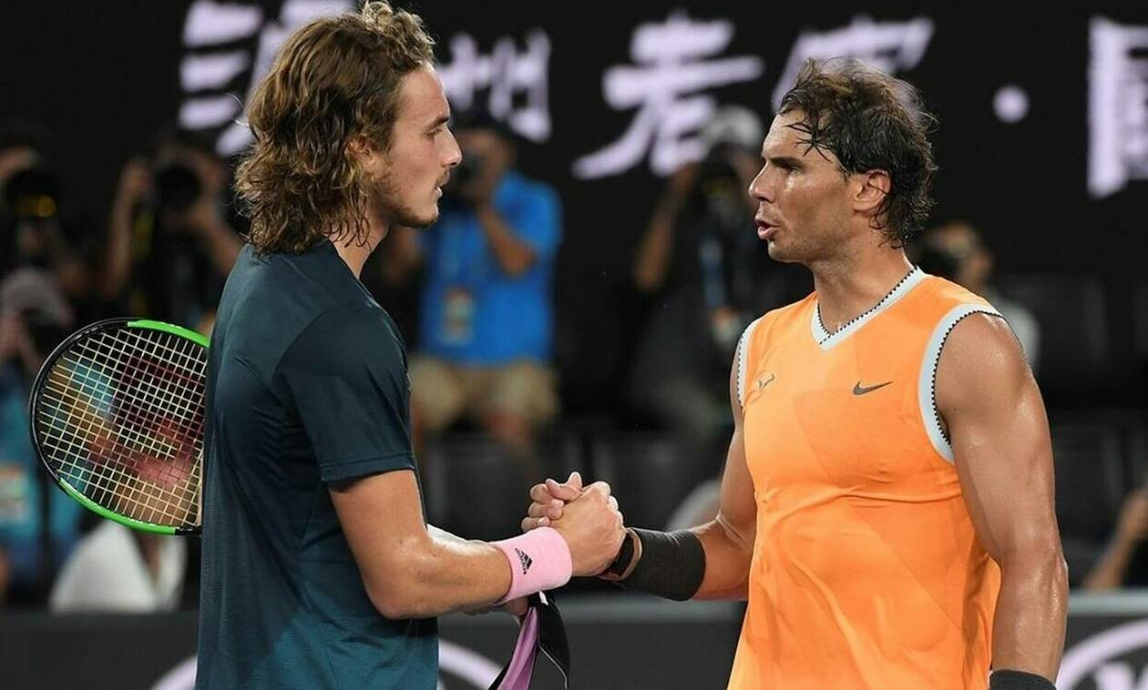 Tsitsipas stops Nadal to face Djokovic in Madrid Open final
