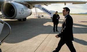 Χαμός με τον Τσίπρα στην πτήση για Γιάννενα - Δείτε τι έγινε (pics)