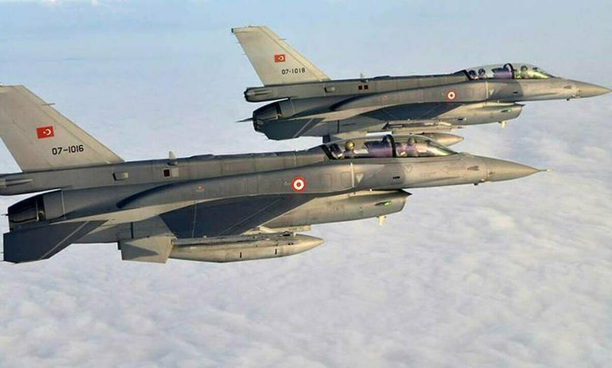 Νέες προκλήσεις: Πτήσεις τουρκικών μαχητικών πάνω από Χίο και Οινούσσες