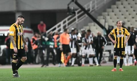 Πανικός στην ΑΕΚ μετά τον χαμένο τελικό: «Ξεφτίλες» και «πατσαβούρες» λένε οι οπαδοί!